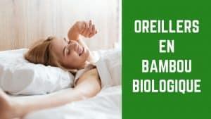 avis oreiller bambou mémoire de forme bio