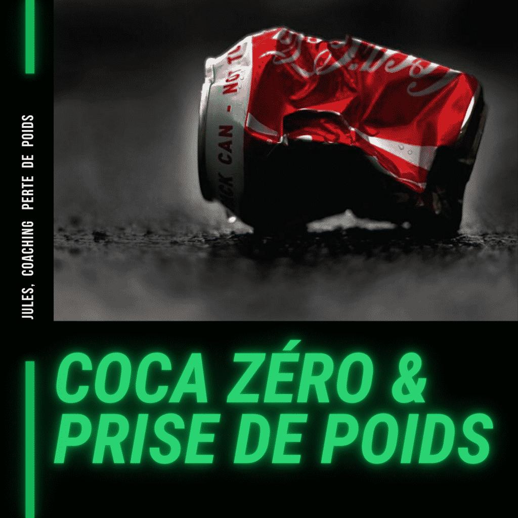 coca zero et prise de poids