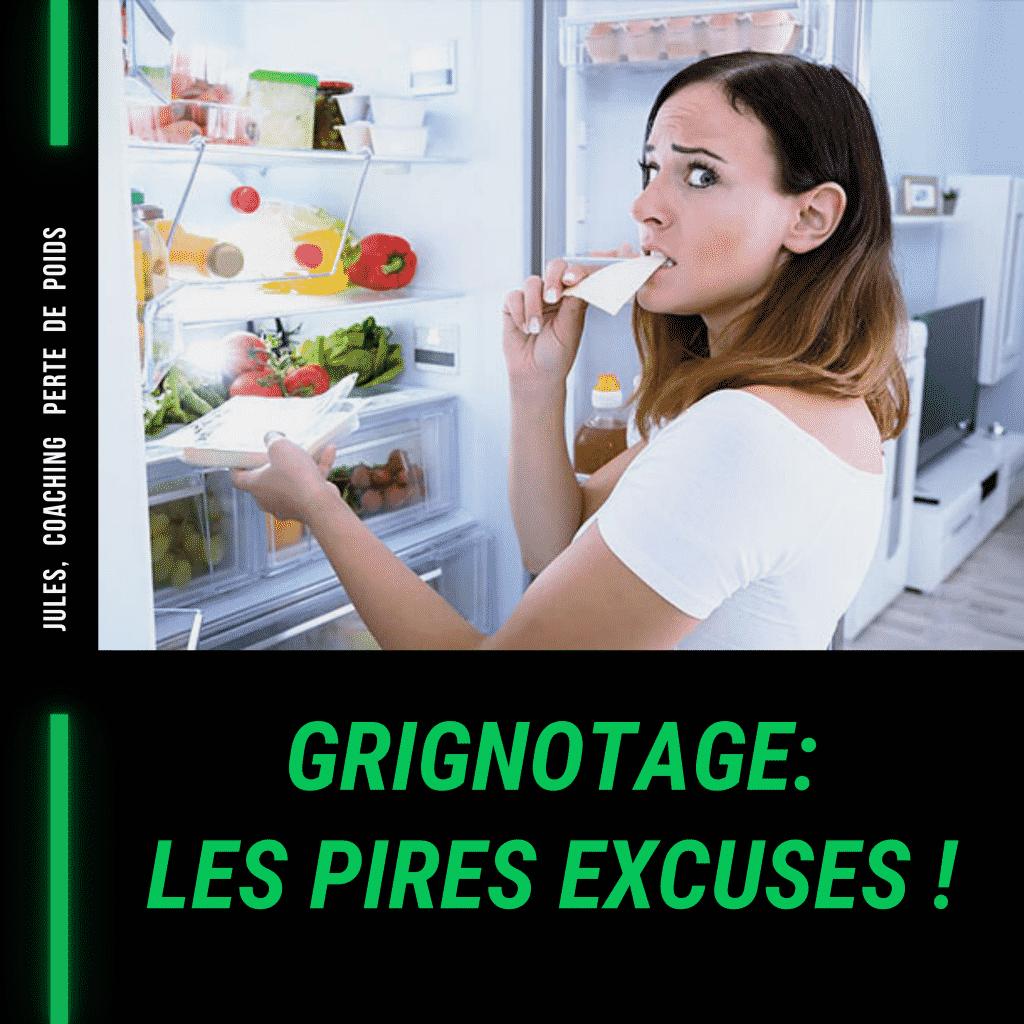 Alimentation émotionnelle, les pires excuses