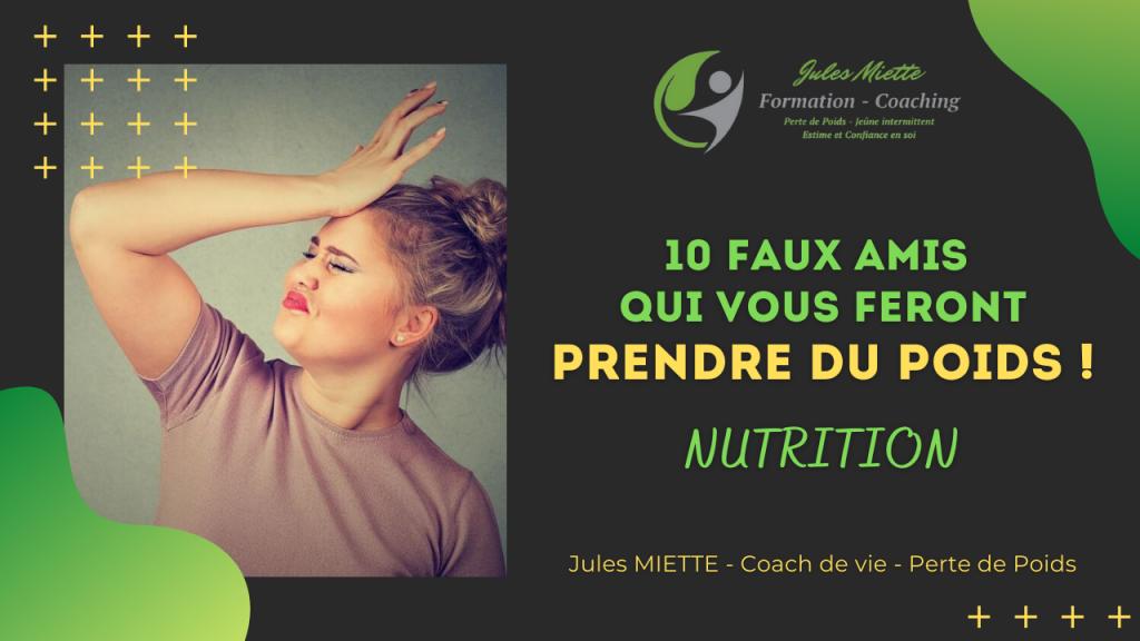 Nutrition: 10 faux amis qui vous feront prendre du poids !